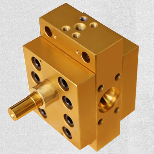 High temperature melt pumps